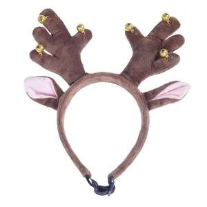 Jingle Bell Antlers for Dogs