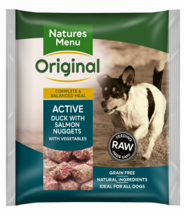 Nature's Menu Active Dog Bite Size Nuggets 1kg