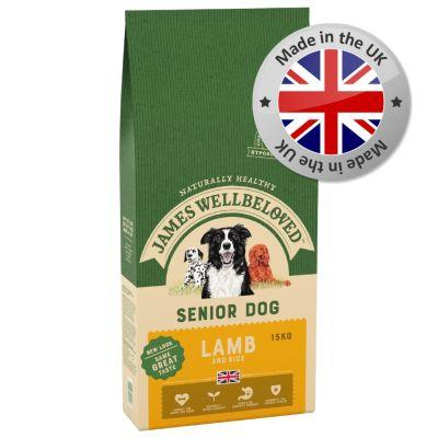 james wellbeloved senior lamb and rice