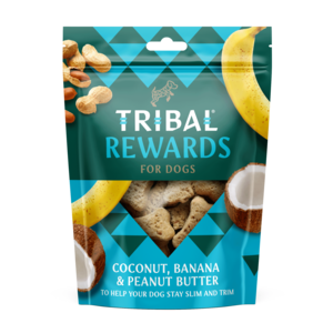 Tribal Rewards - Coconut, Banana & Peanut Butter Dog Biscuits