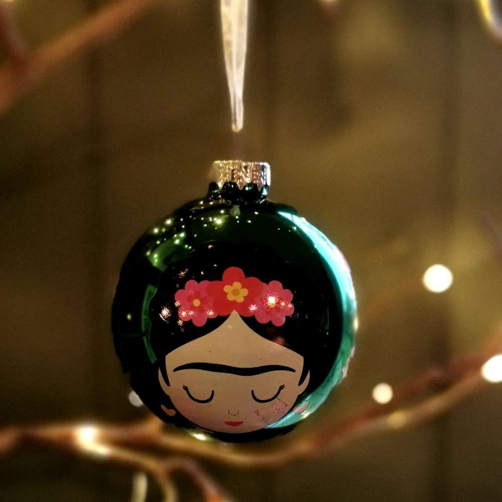 Green Frida Bauble at Albert & Moo