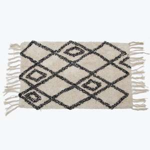 Scandi Boho Berber Style Rug at Albert & Moo