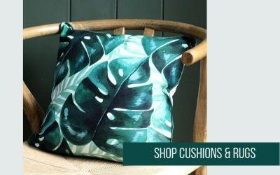 Shop cushions & rugs at Albert & Moo