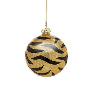 Luxe Tiger Print Bauble at Albert & Moo