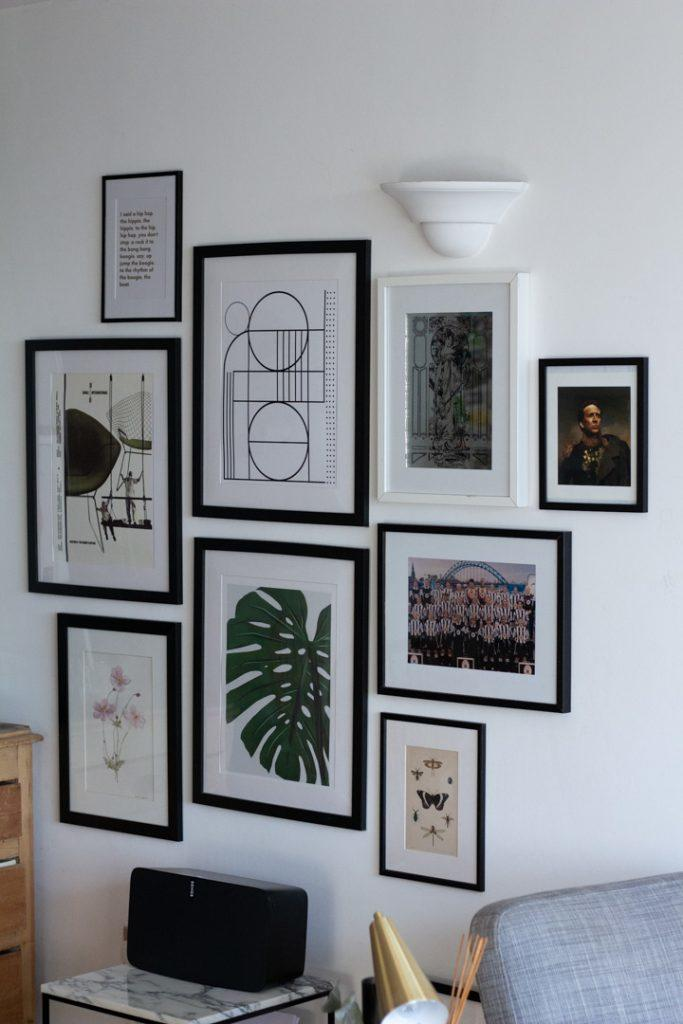 Monochrome Gallery Wall