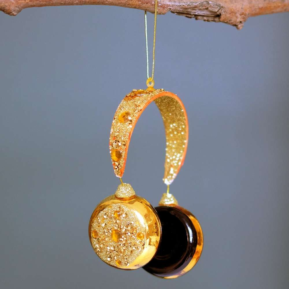 Luxe Headphone Bauble at Albert & Moo