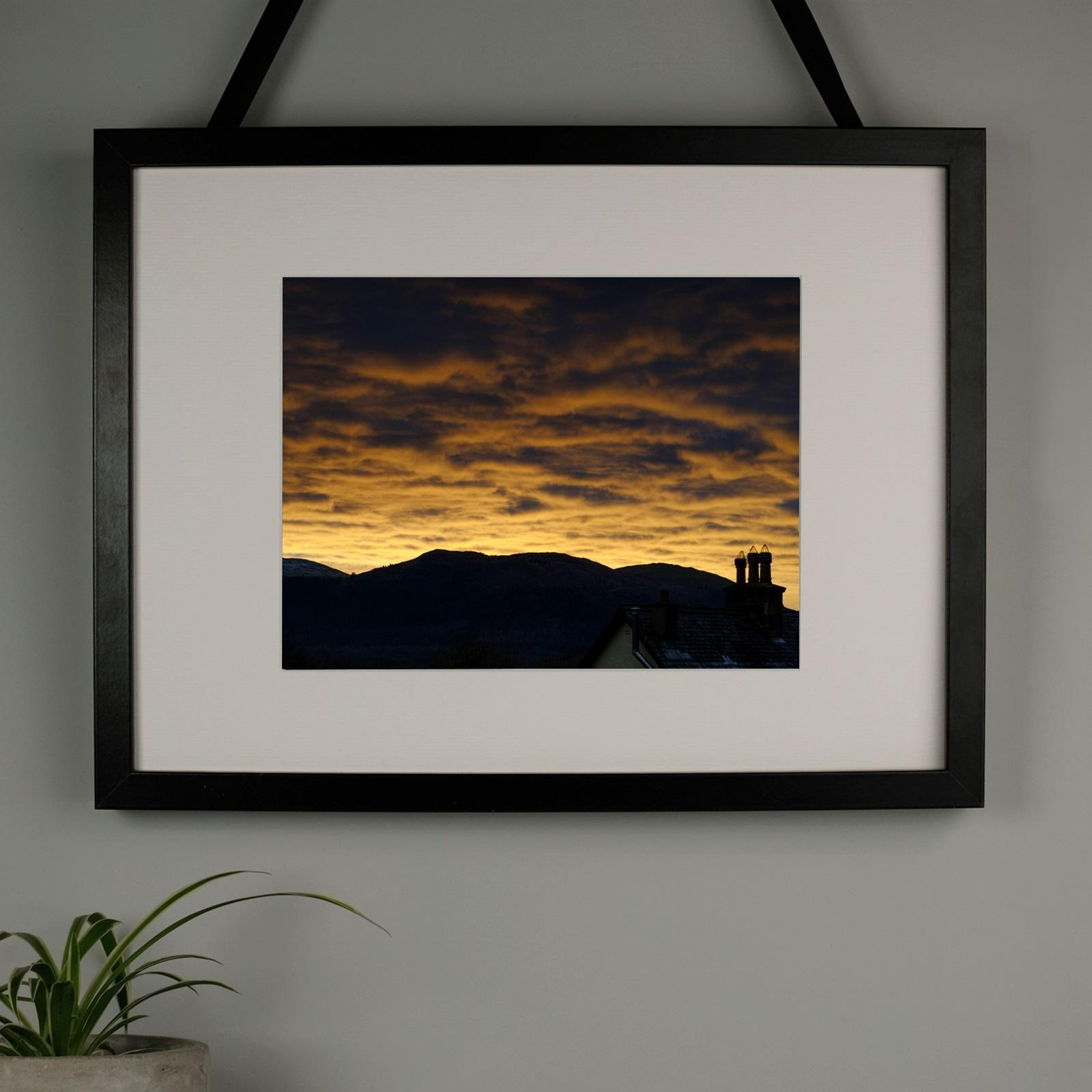 Burnt Sky Photography Print at Albert & Moo