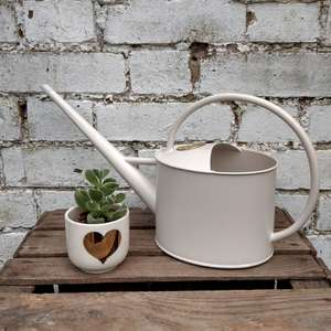 Gold Heart Mini Plant Pot at Albert & Moo