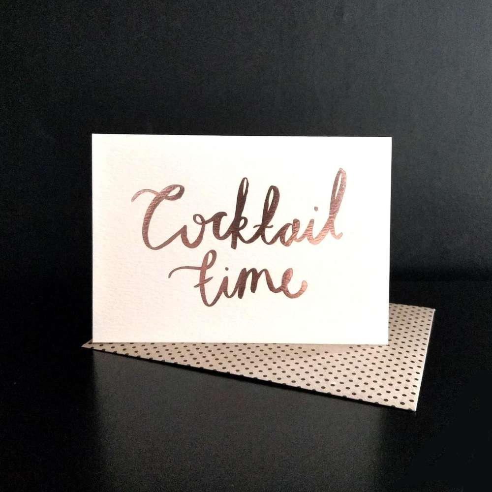 Katie Leamon Cocktail Time Gift Card at Albert & Moo