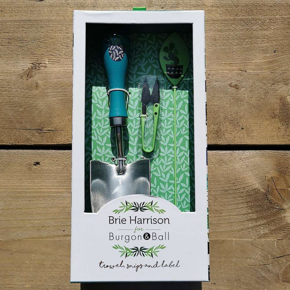 Brie Harrison Trowel, Snips & Label Set at Albert & Moo