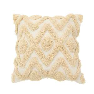Blanca Tufted Diamond Cushion at Albert & Moo