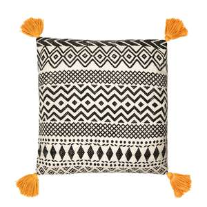 Sass & Belle Scandi Boho Tassle Cushion at Albert & Moo