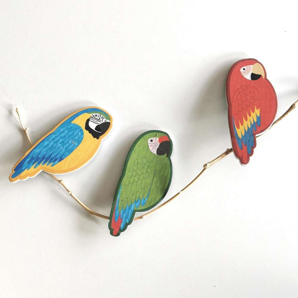 Parrot Nail File at Albert & Moo