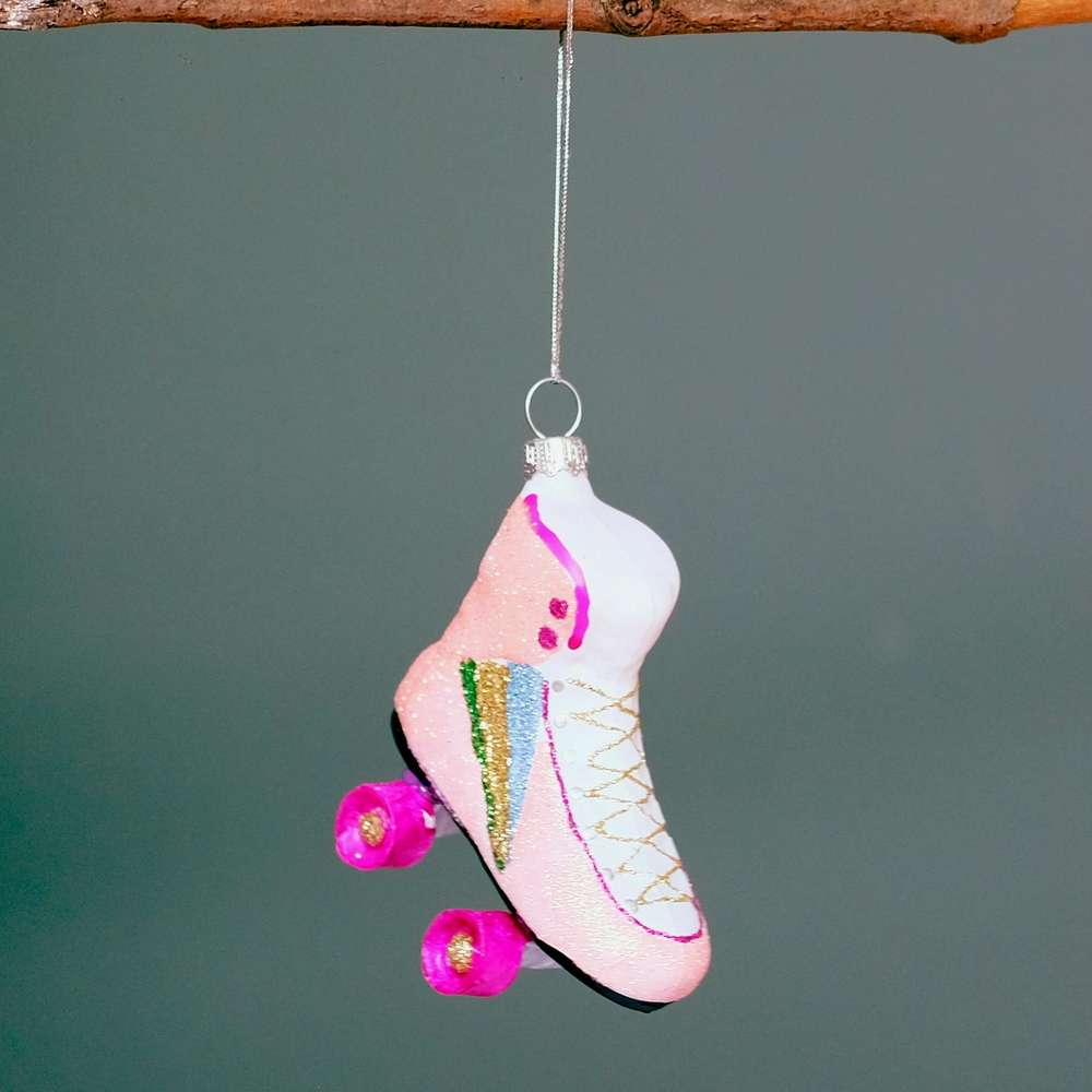 Retro Roller Skates Bauble at Albert & Moo