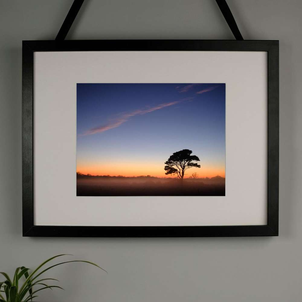 Burnt Sky in Suffolk Photography Print at Albert & Moo