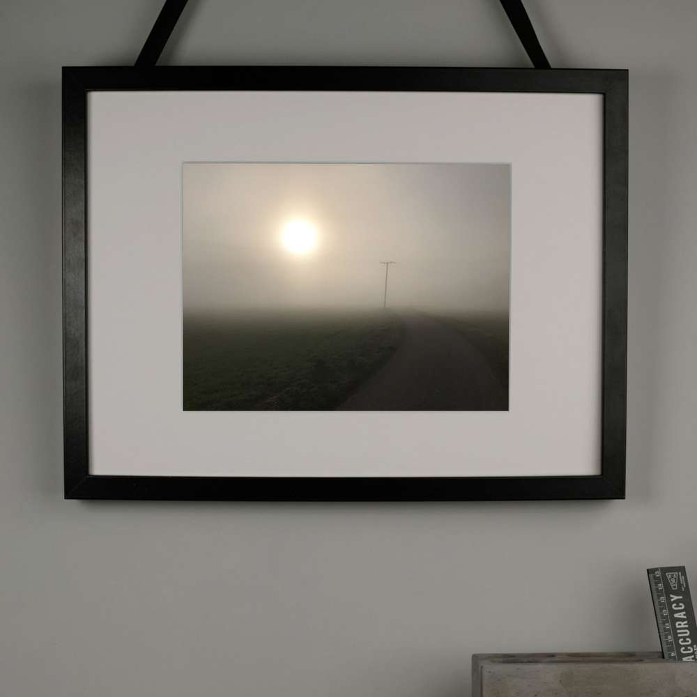 Misty Sun Photography Print at Albert & Moo