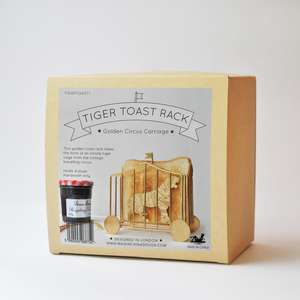 Tiger Toast Rack at Albert & Moo