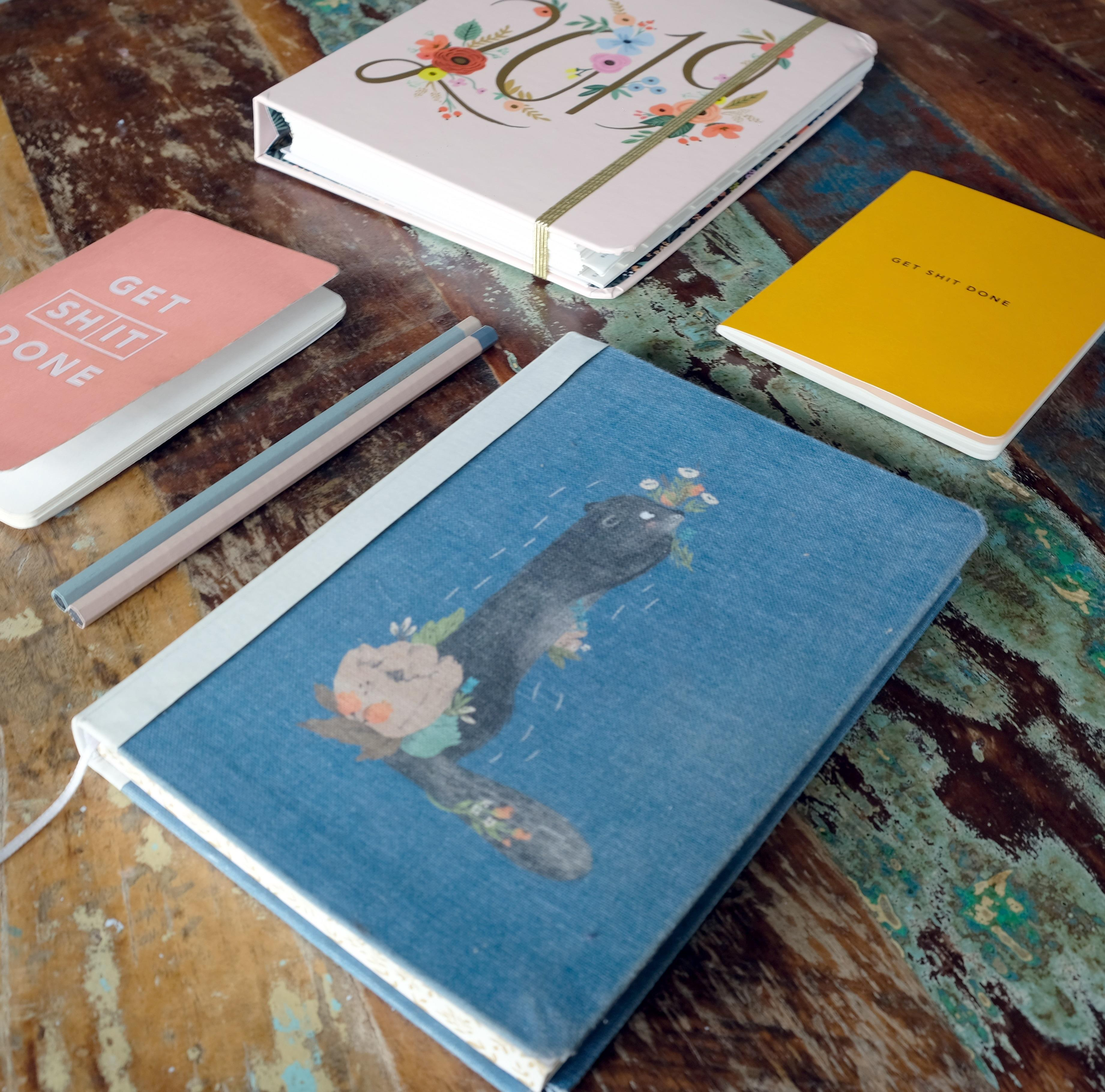 Diaries and planners at Albert & Moo