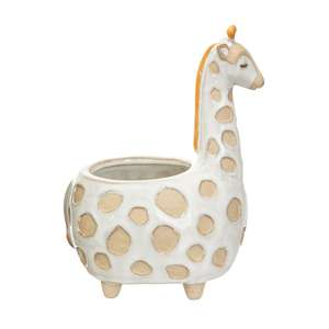 Giraffe Plant Pot at Albert & Moo