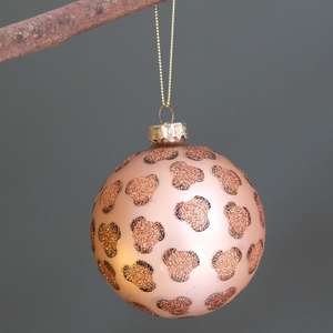 Luxe Leopard Print Bauble at Albert & Moo