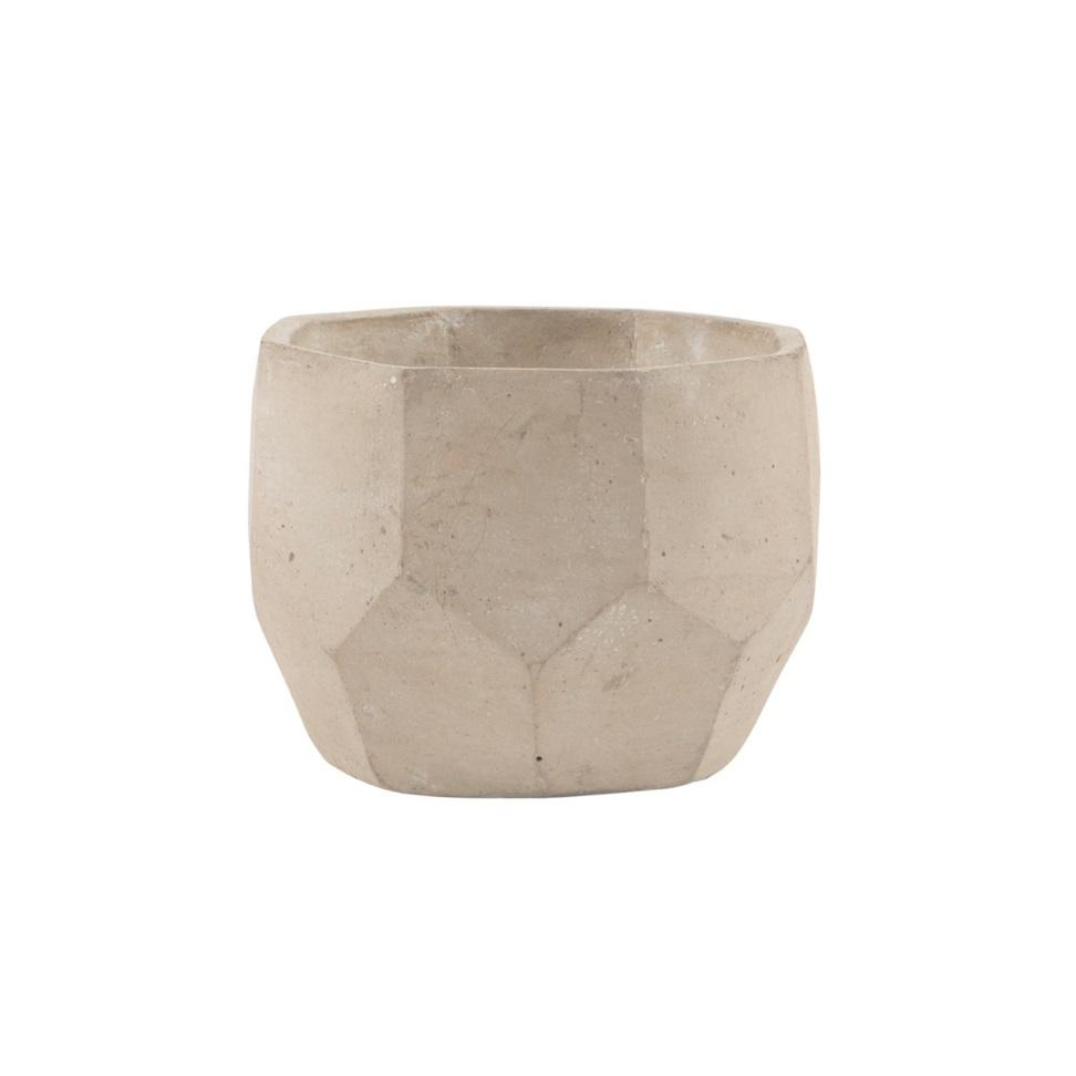 Geometric Concrete Cement Plant Pot at Albert & Moo