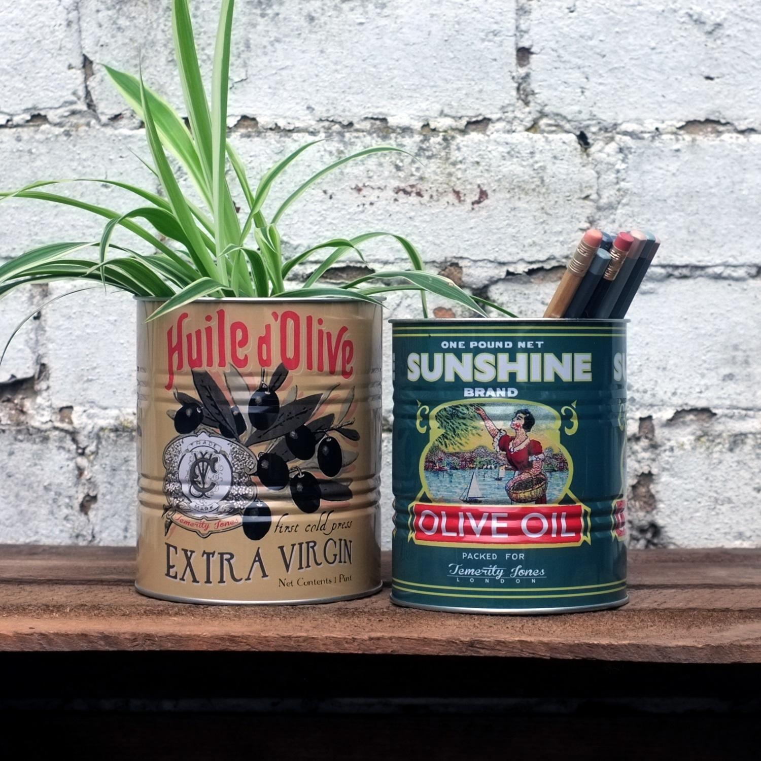 Olive Tins at Albert & Moo