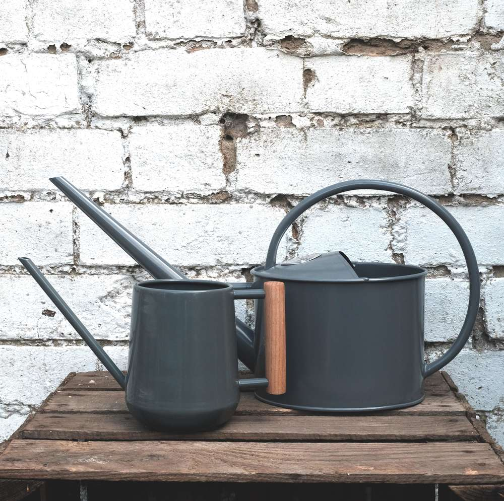 Sophie Conran Grey Watering Can at Albert & Moo