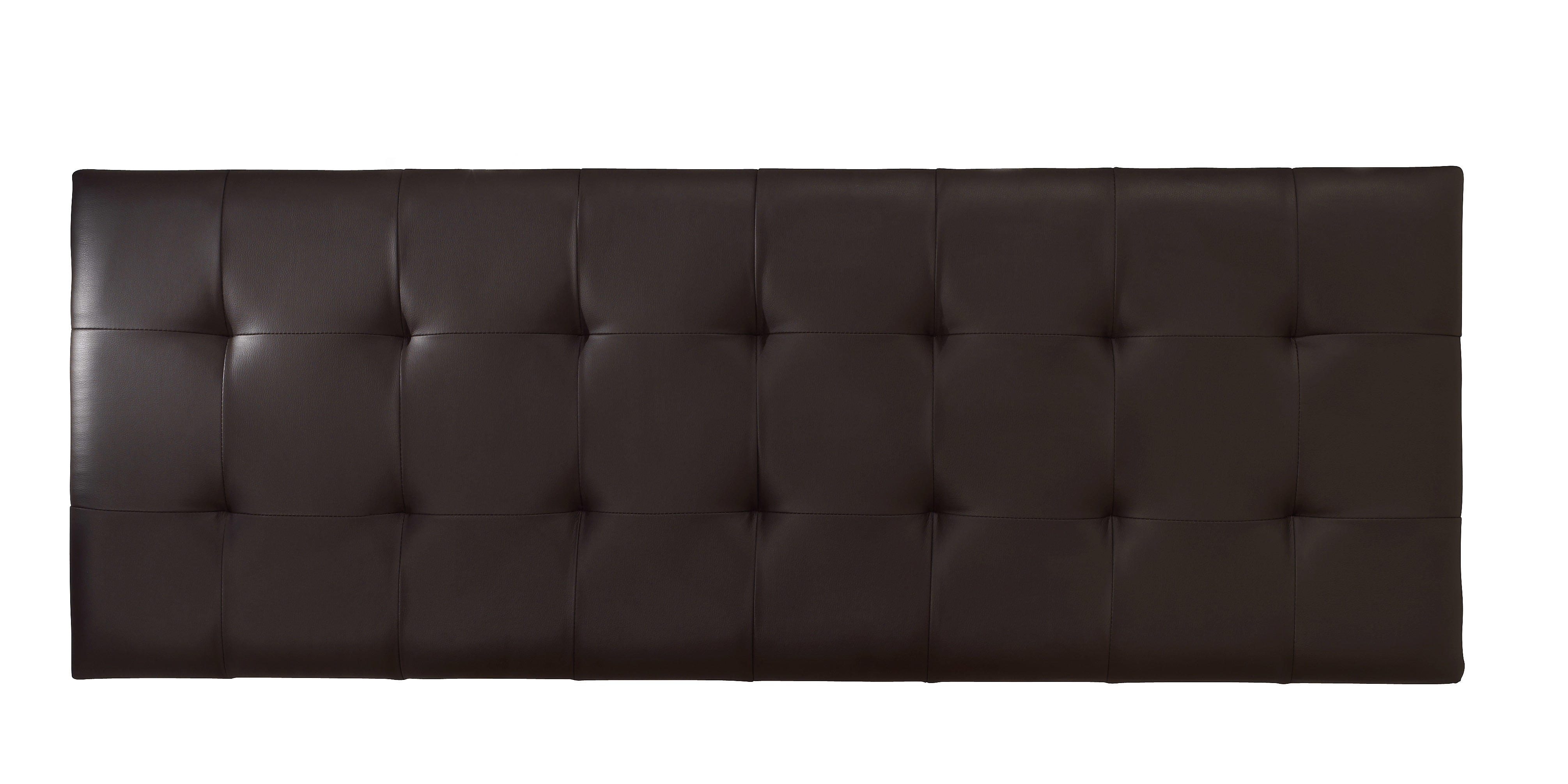 Double Faux Leather Headboards