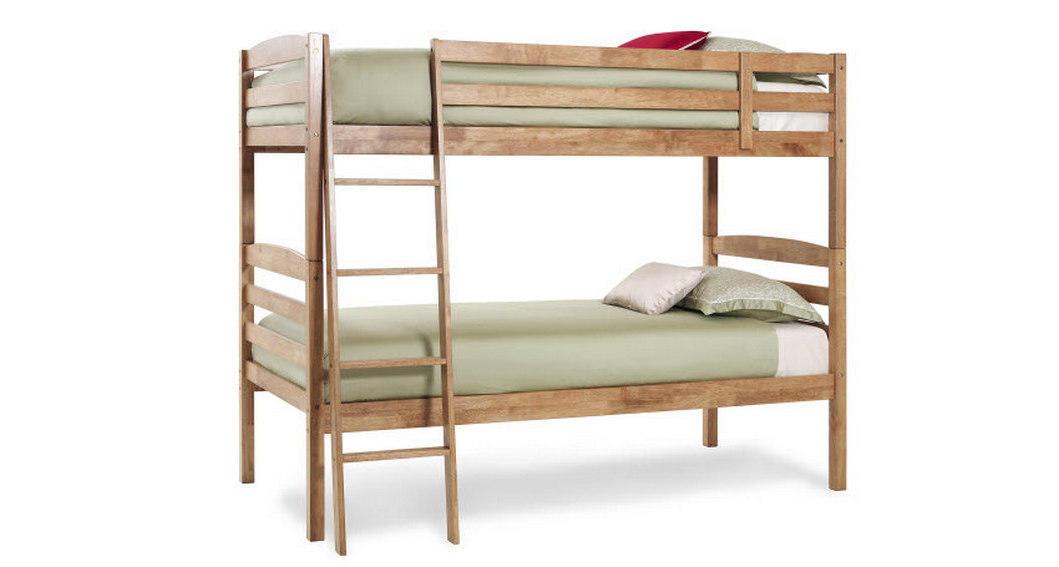 Serene Brooke Bunk Beds In Honey Oak Or Opal White Finish