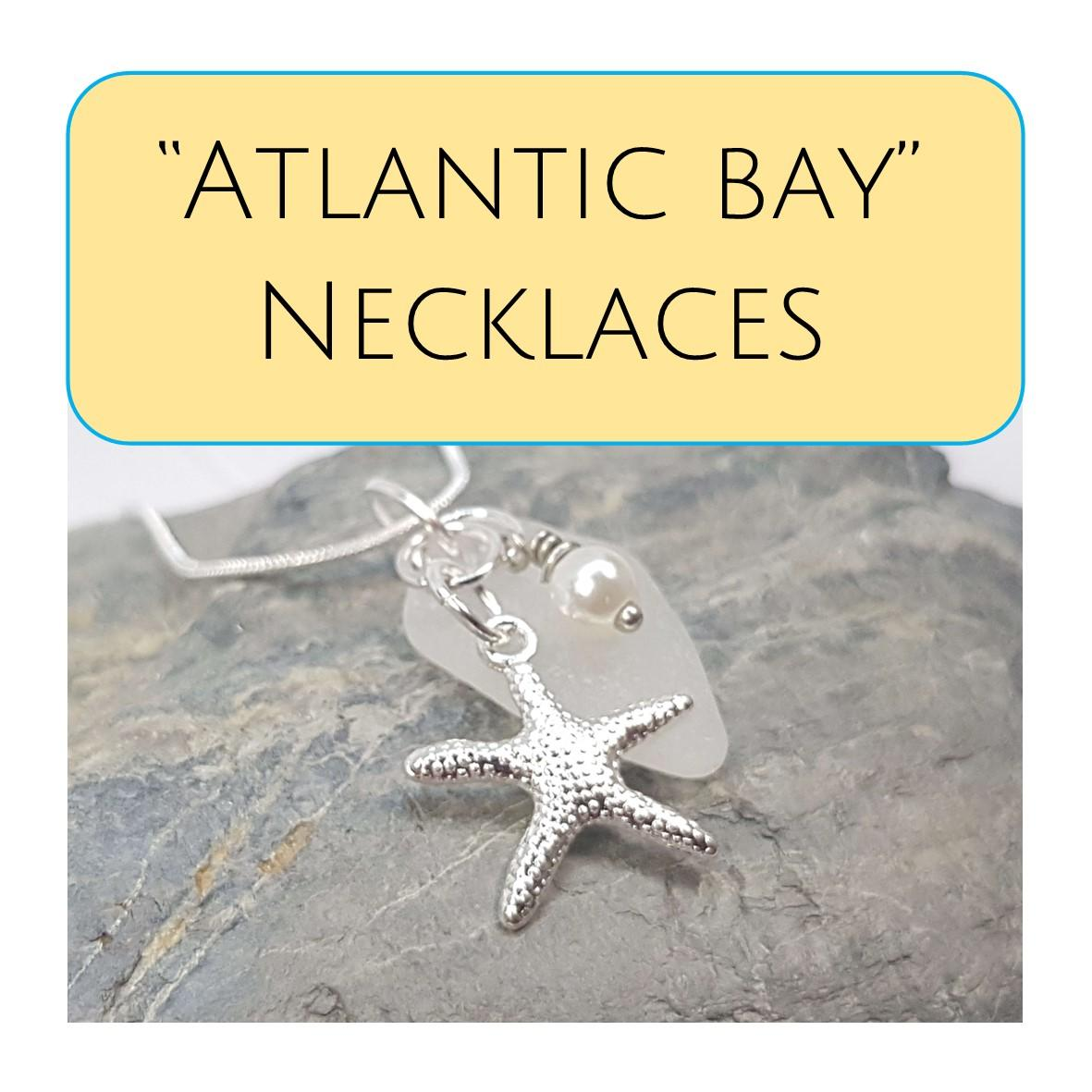 Amazing and beautiful Sea Glass necklaces from £12.95