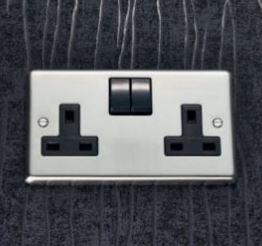 Electrical 3 pin UK Sockets