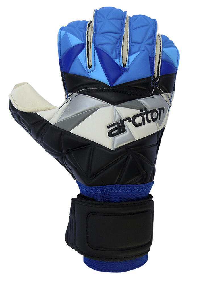 Palaso Black and Blue Goalie Gloves