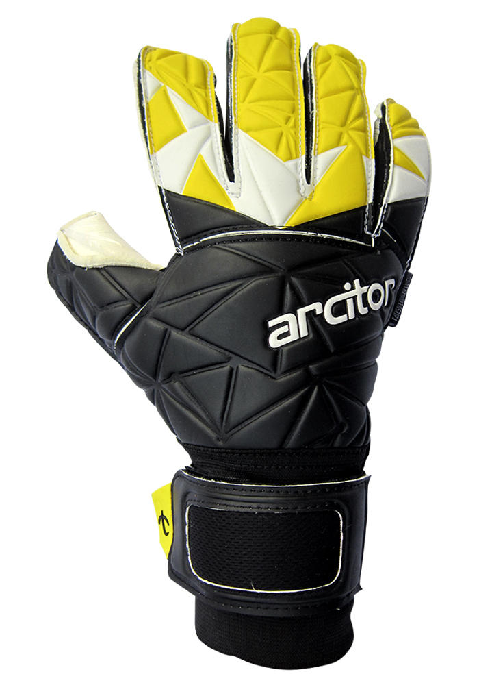 Palaso Black and Yellow goalkeeper gloves