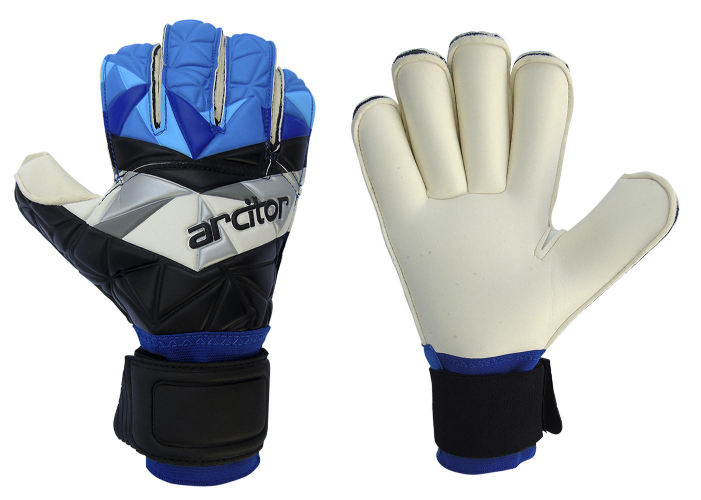 Palaso Black and Blue Goalkeeping Gloves