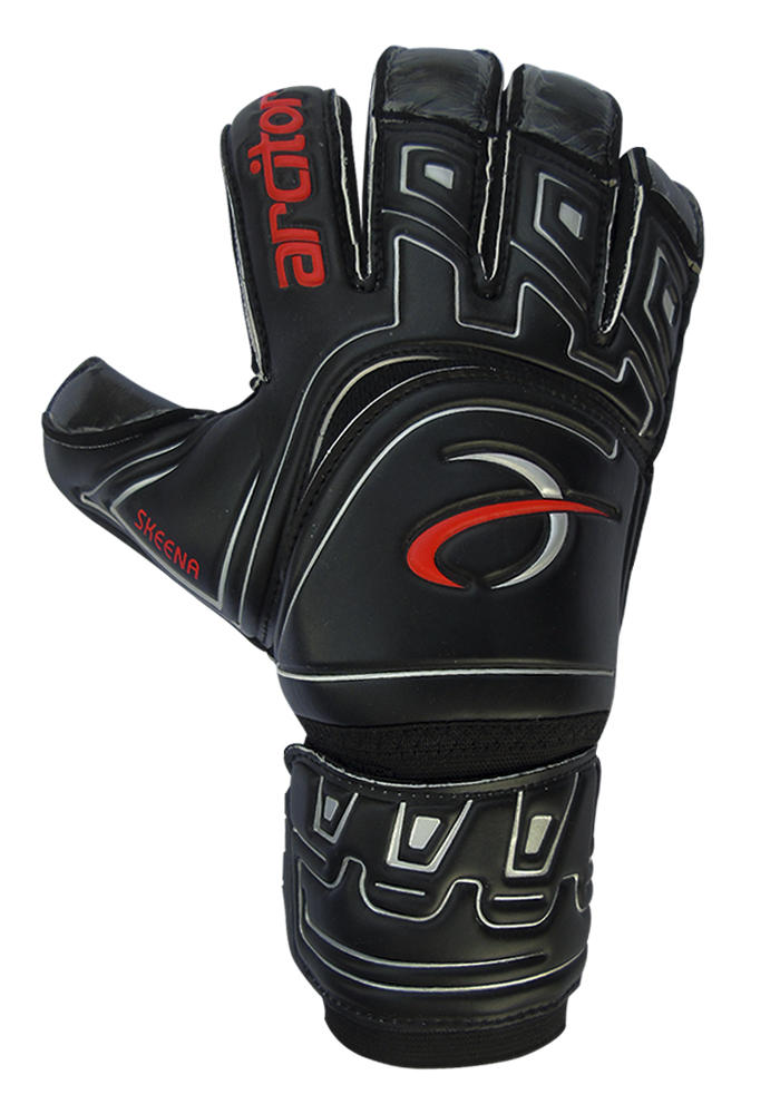 Skeena black goalkeeper gloves