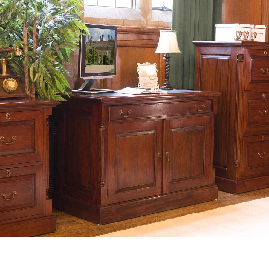Elegant Mahogany Hidden Home Office