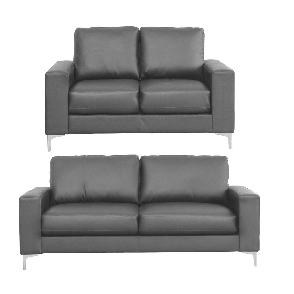 Lyon 2 Seat Leather Sofa