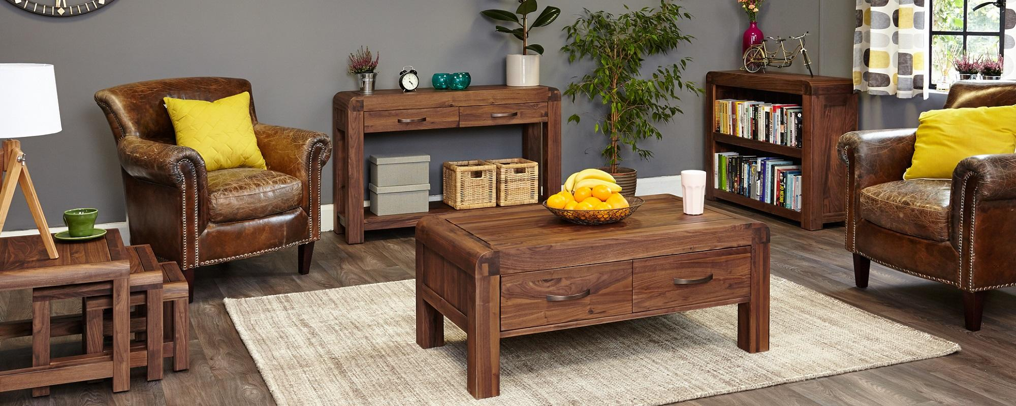 Sophisticated Walnut Furniture Collection