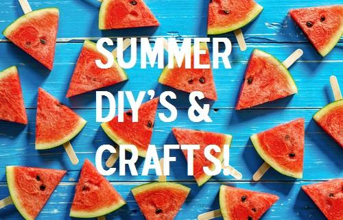Summer DIY Ideas & Crafts for the whole Family
