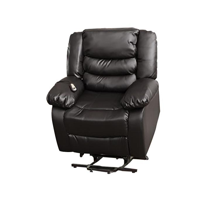 Jersey Leather Electric Riser Recliner Armchair