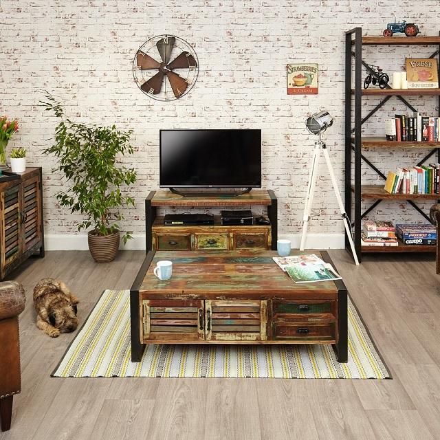 Reclaimed Salvaged Wood Furniture Collection