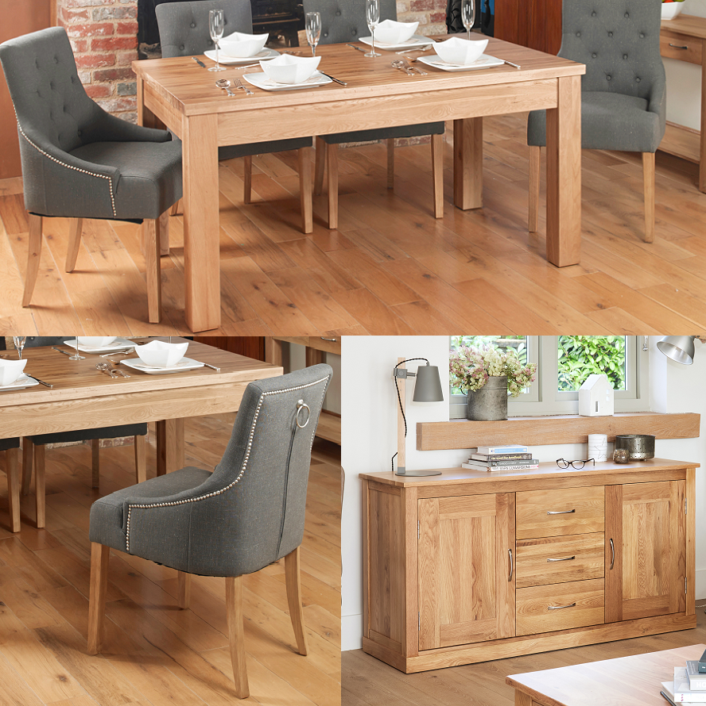 Clic Oak Dining Room Bundle