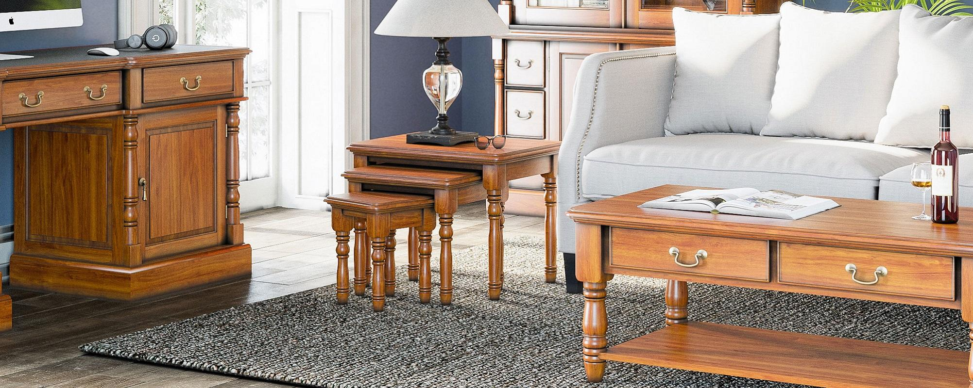 The New Sophisticated Mahogany Furniture Collection