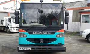 Dennis Eagle Split Lift Cab View