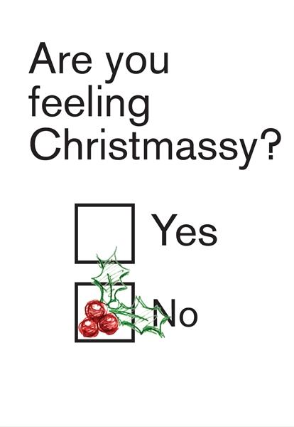 ARE YOU FEELING CHRISTMASSY?