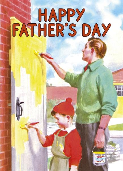 Happy Father's Day - Paint