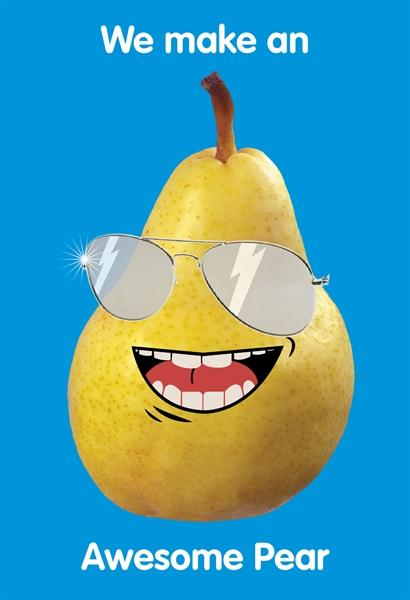 We make an Awesome Pear
