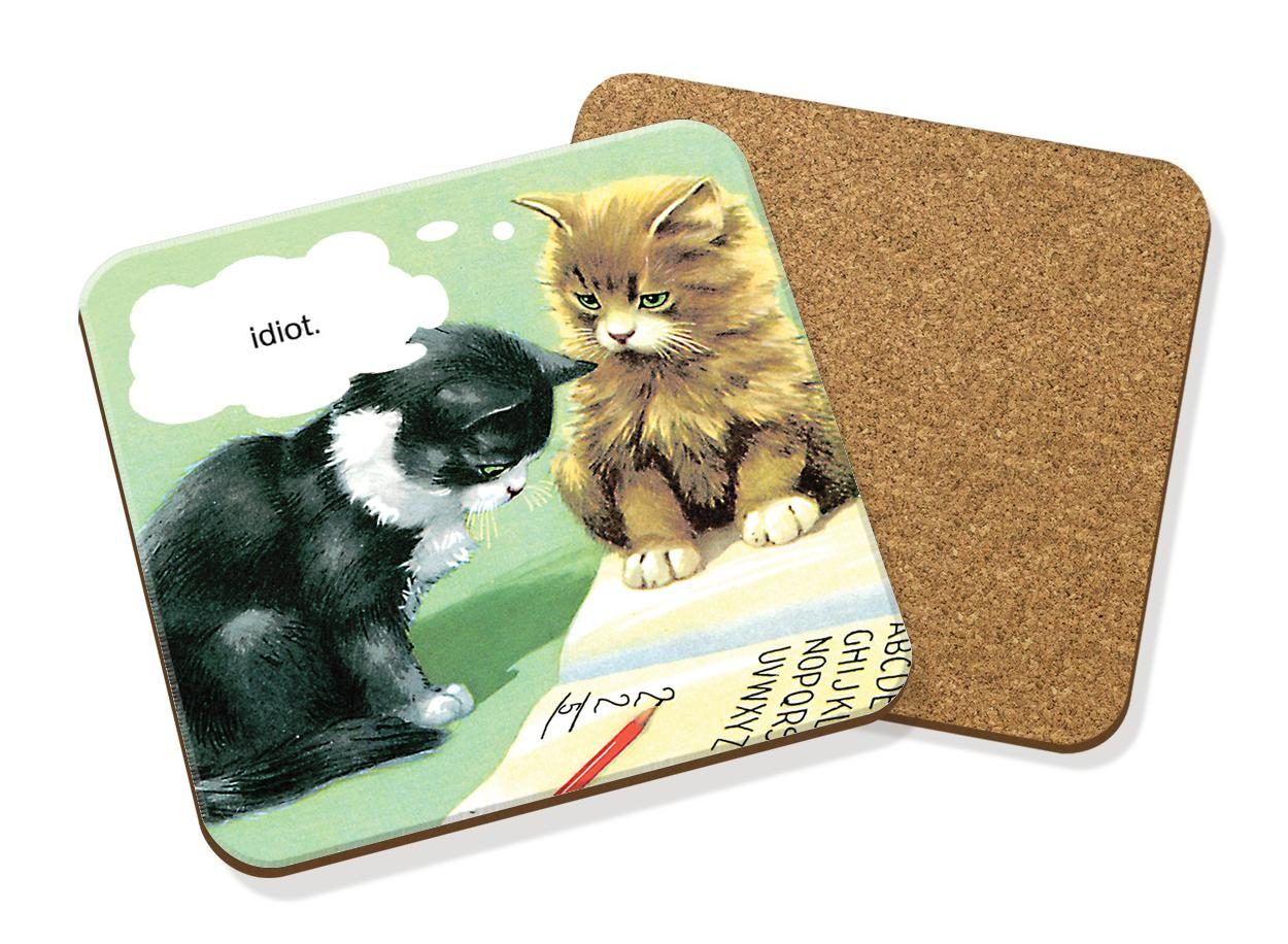 COASTERS FROM LADYBIRD BOOKS'