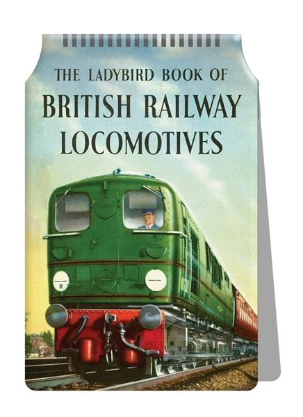 British Railway Locomotives Travel Card Holder