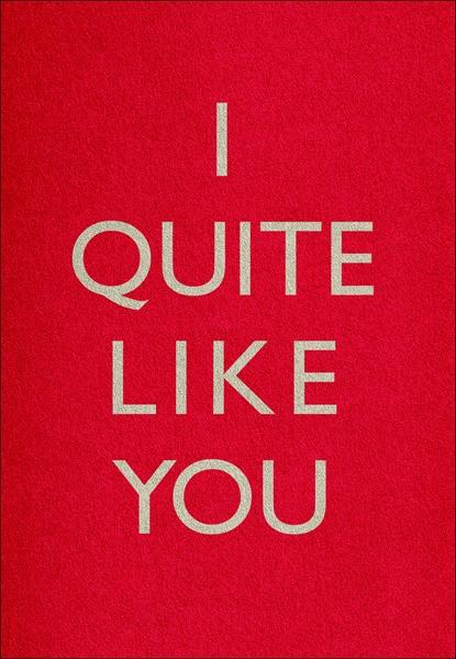 I QUITE LIKE YOU